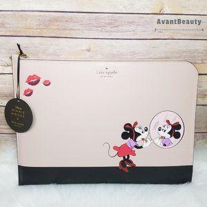 Kate Spade Minnie Mouse Beige Black Laptop Case